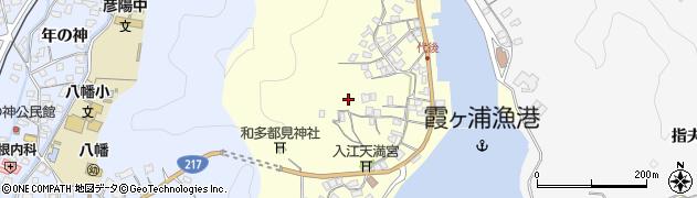 大分県佐伯市霞ケ浦378周辺の地図