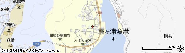 大分県佐伯市霞ケ浦350周辺の地図