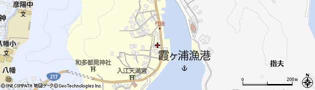 大分県佐伯市霞ケ浦337周辺の地図