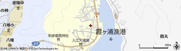 大分県佐伯市霞ケ浦349周辺の地図