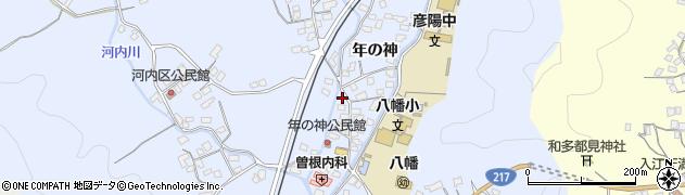 大分県佐伯市戸穴1539周辺の地図