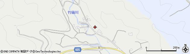 大分県佐伯市海崎3058周辺の地図
