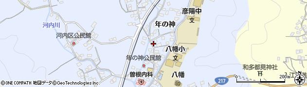 大分県佐伯市戸穴1541周辺の地図