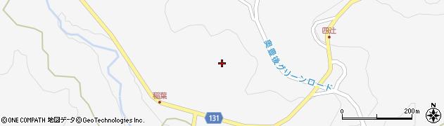 大分県竹田市久住町大字白丹8688周辺の地図