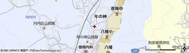 大分県佐伯市戸穴1559周辺の地図