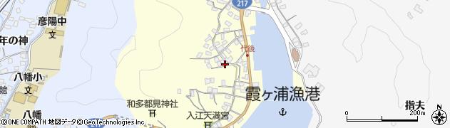 大分県佐伯市霞ケ浦591周辺の地図