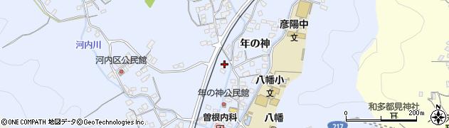 大分県佐伯市戸穴1458周辺の地図