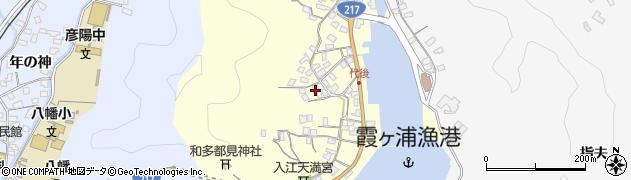 大分県佐伯市霞ケ浦589周辺の地図