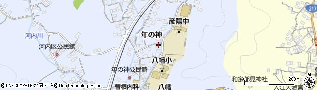 大分県佐伯市戸穴1555周辺の地図