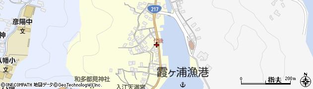 大分県佐伯市霞ケ浦343周辺の地図