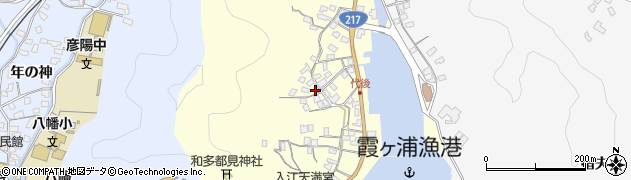 大分県佐伯市霞ケ浦580周辺の地図