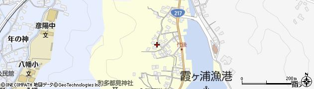 大分県佐伯市霞ケ浦578周辺の地図