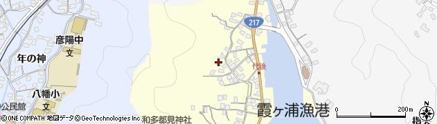 大分県佐伯市霞ケ浦577周辺の地図
