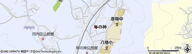 大分県佐伯市戸穴1565周辺の地図