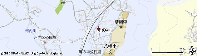 大分県佐伯市戸穴1567周辺の地図