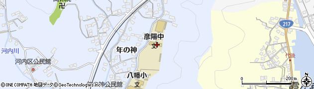 大分県佐伯市戸穴2925周辺の地図