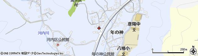 大分県佐伯市戸穴1445周辺の地図