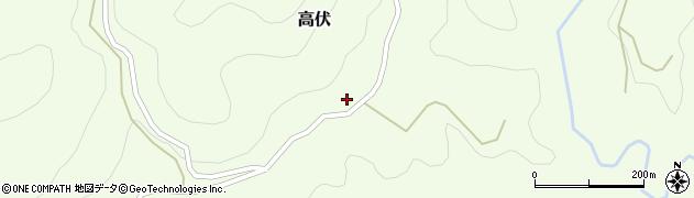 大分県竹田市高伏723周辺の地図