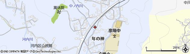 大分県佐伯市戸穴1649周辺の地図