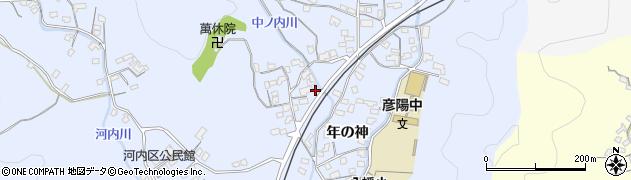 大分県佐伯市戸穴1431周辺の地図