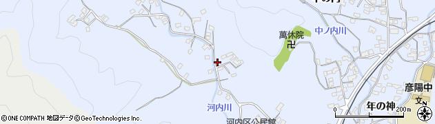 大分県佐伯市戸穴1299周辺の地図