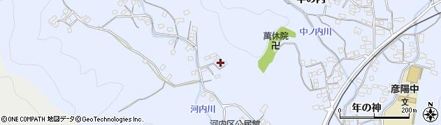 大分県佐伯市戸穴1307周辺の地図