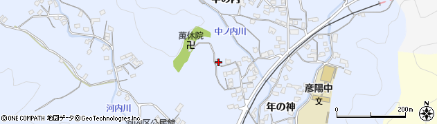 大分県佐伯市戸穴1411周辺の地図