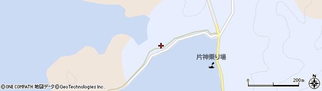 大分県佐伯市片神浦194周辺の地図