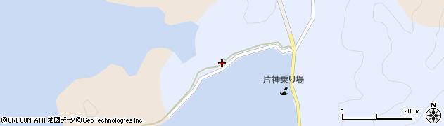 大分県佐伯市片神浦195周辺の地図