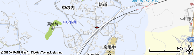大分県佐伯市戸穴1633周辺の地図