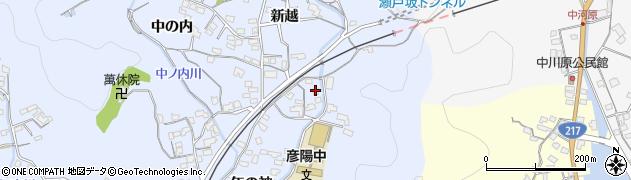 大分県佐伯市戸穴1599周辺の地図