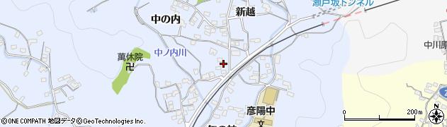 大分県佐伯市戸穴1661周辺の地図