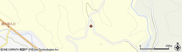 大分県竹田市小川887周辺の地図