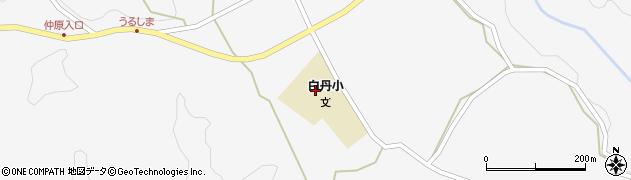 大分県竹田市久住町大字白丹4707周辺の地図