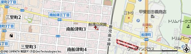 船津天満宮周辺の地図