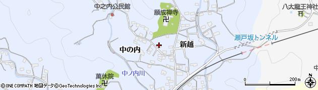 大分県佐伯市戸穴1707周辺の地図