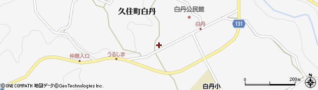 大分県竹田市久住町大字白丹4743-3周辺の地図