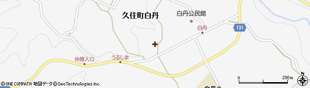 大分県竹田市久住町大字白丹4742周辺の地図