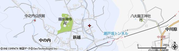 大分県佐伯市戸穴2836周辺の地図