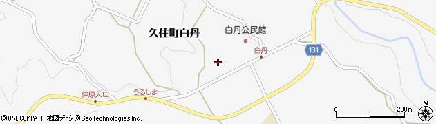 大分県竹田市久住町大字白丹4739周辺の地図