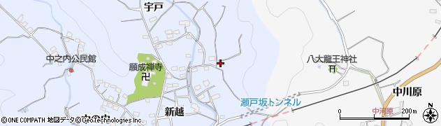 大分県佐伯市戸穴2825周辺の地図