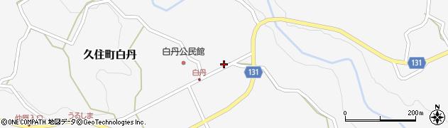 大分県竹田市久住町大字白丹4477周辺の地図