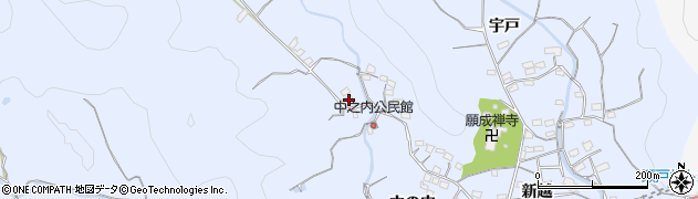 大分県佐伯市戸穴1776周辺の地図