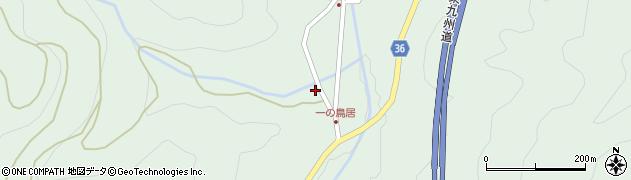 大分県佐伯市弥生大字床木2475周辺の地図