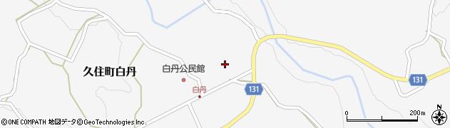 大分県竹田市久住町大字白丹4499周辺の地図