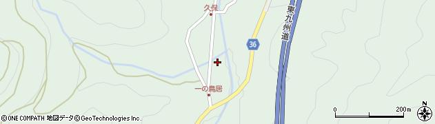 大分県佐伯市弥生大字床木2158周辺の地図