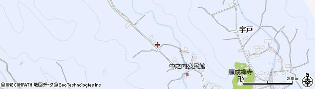 大分県佐伯市戸穴1763周辺の地図