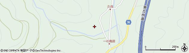 大分県佐伯市弥生大字床木2217周辺の地図