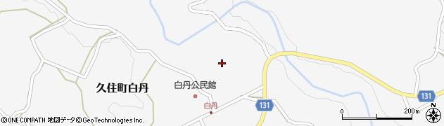 大分県竹田市久住町大字白丹4473周辺の地図