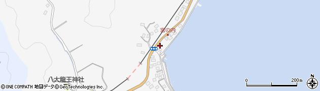 大分県佐伯市護江588周辺の地図